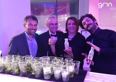 GR'IN Boisson Officielle du bar des Heavent Meeting Awards