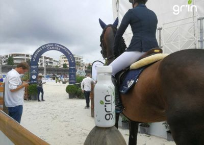 GR'IN Partenaire du Jumping International de Cannes
